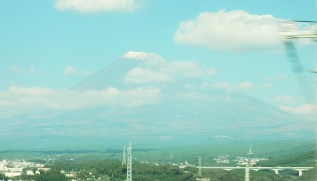 新幹線 富士山 (2)