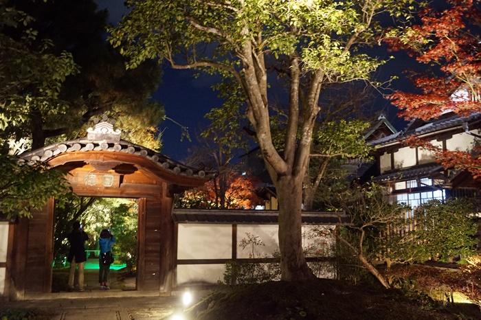 京都 圓徳院ライトアップ (2)2
